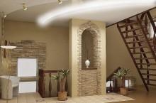 Делаем криволинейный потолок