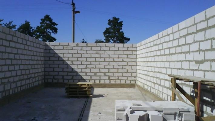 Возведение качественных стен дома