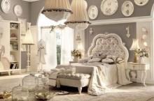 Про гламурные спальни
